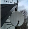 80 cm Parabolskærm SAB Satellite Mesh Dish M80