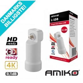 Single LNB Amiko ECO Slim L108 0,1dB