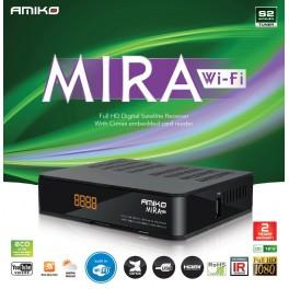 Amiko MIRA WiFi DVBS/S2 receiver
