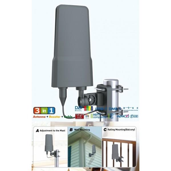 Udendørs dvb antenne