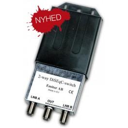 DISEqC Emitor 2X1 Switch M/RF Isolati