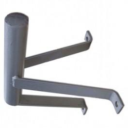 Parabolbeslag til væg eller mur 20cm Ø32mm
