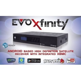 Optibox EVO Xfinity - Android, XBMC & HD satellite receiver