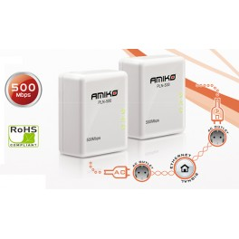 AMIKO PLN-500 Powerline Adapter Kit