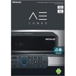 Amiko A3 Combo DVBS/S2, DVB-T2/DVB-C receiver