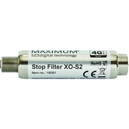 Maximum XO-S2 K58 stop filter (5-782 MHz)