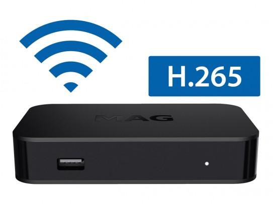 IPTV STB MAG322w1 + gratis HDMI/SPDIF kabel