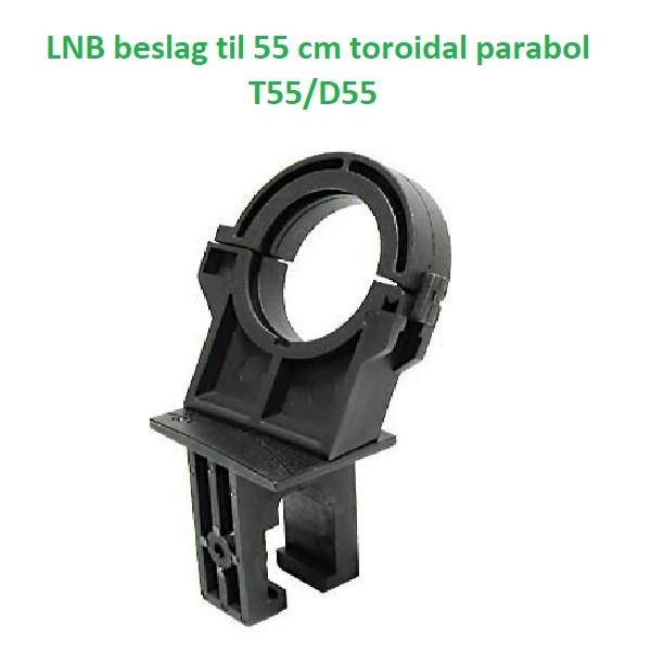 Extra LNB beslag til toroidal parabol