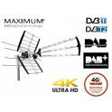 Maximum COMBO 212 UHF/VHF/+DAB LTE TV antenne