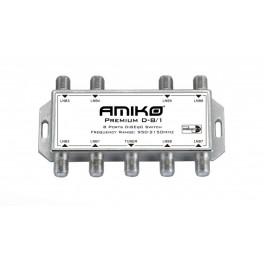 Amiko Premium D-8/1 Indoor DiSEqC 1.1 switch
