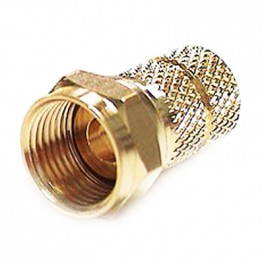 F-connector Guld 5,2 mm