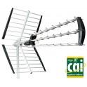 Digiline 450W DVB-T antenne, 32 elementers, passiv 16 dB