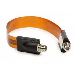Fladt vindue adapter kabel - 17 cm